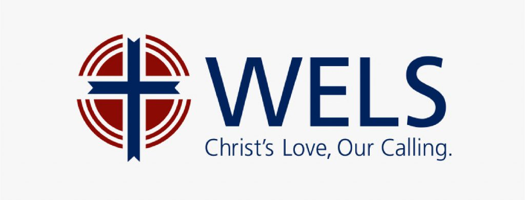 wels logo. Christ's love, our calling
